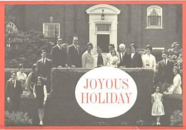 1966 Christmas Card