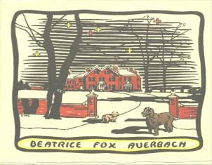 Christmas Card, 1931