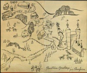 Christmas Card, 1945