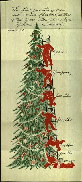 Christmas Card, 1950