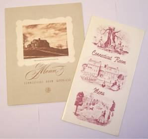 Connecticut Room Menus