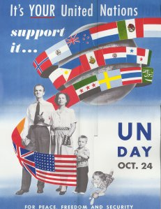 UN Day Poster