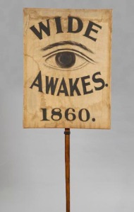 Wide-Awakes banner