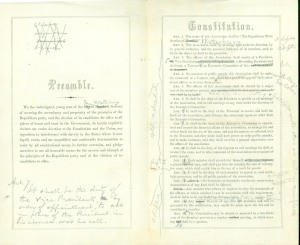 Preamble and Constitution-Hartford