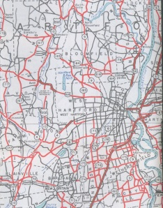 CT highways, 1946