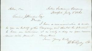 Letter from Aetna