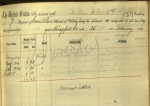 William Wilson 2nd, who enlisted in Bridgeport, deserted the service as indicated in the clothing book. Ms 101722.