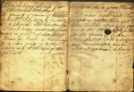 Blackberry Syrup calls for a pint of brandy. Ms 57073.