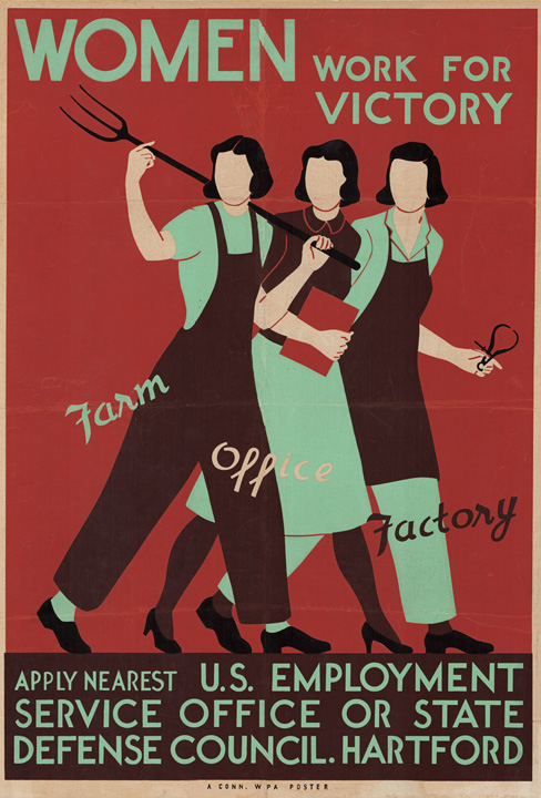 Women Work for Victory Connecticut WPA