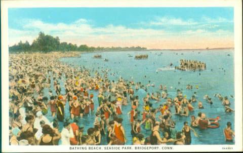 Bathing Beach, Seaside Park, Bridgeport
