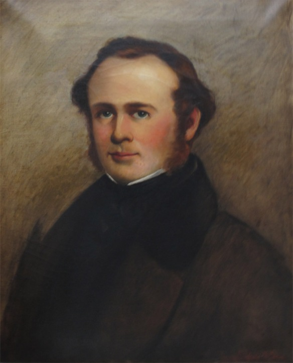 Horace Wells painted by Dr. James Goodwin McManus