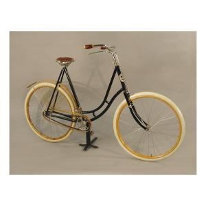 """Woman's Bicycle."" 1890s. 1994.50.2"