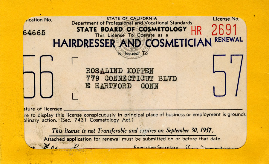 how to become a hairdresser in california