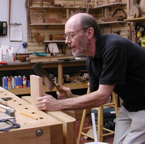 Period furniture comes to life in the hands of skilled present-day craftspeople. Come watch Will Neptune demonstrate the techniques from centuries past that he works to preserve in his furniture and teaching.