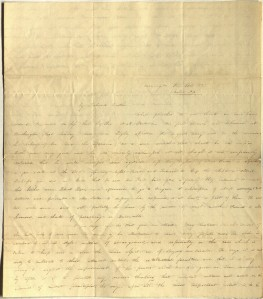 Letter from Charlotte to Samuel Cowles, June 21, 1835.
