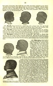 Kenyeh (Kagne) the little gitl at the top right of the page, is the African who stayed with Charlotte Cowles