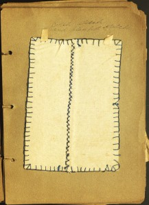 Blanket and catch seams by Mildred Ledgard. Ms 101782