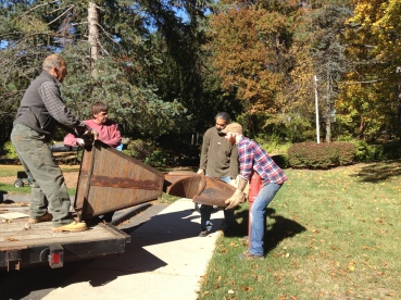 Exciting changes to the grounds at CHS as we get ready to host Open Studio Hartford on November 16 and 17.