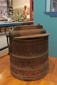 Washing machine from about the 1870s