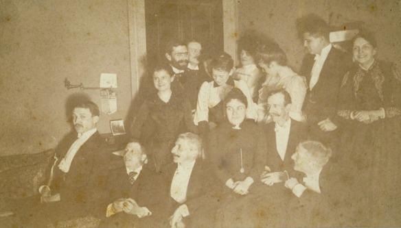1974.6.20 Flash-light at midnight, 183 Sigourney Street, Hartford, December 31, 1888.