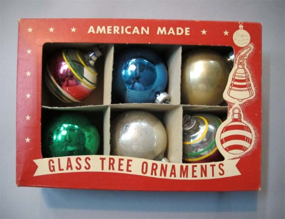 The Novelty Paper Manufacturing Co. in Stamford produced these holiday tree ornaments in the 1950s.. 2000.150.3 collection