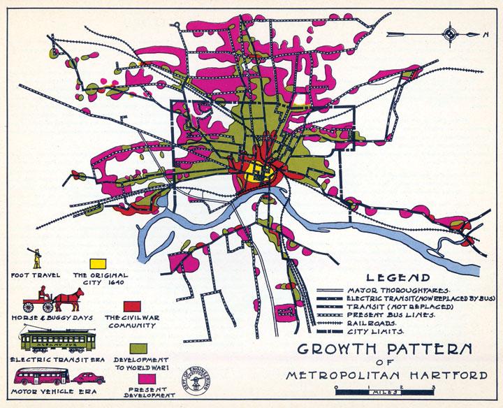 Coordinated transportation for Hartford.