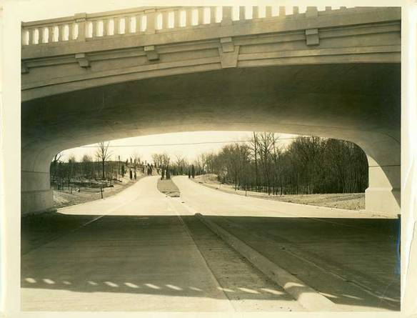 Merrit Parkway bridge, 1937, The Newman S. Hungerford Museum Fund, 2010.168.12