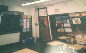 The front of my class room after cleaning