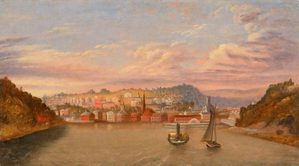 View of Norwich. About 1840. 1945.2.0.