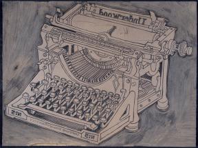 Richard Welling. Underwood Typewriter. 2011.465.56.