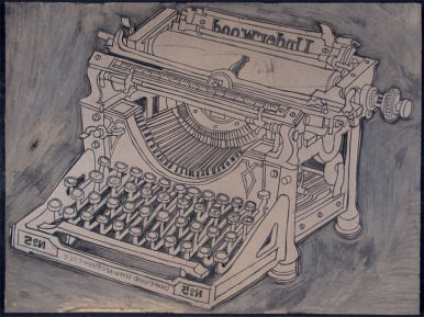 Richard Welling. Underwood Typewriter. 2011.465.56.