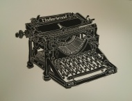 Richard Welling. Underwood Typewriter. 2012.284.6315.