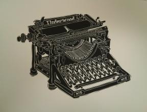 Richard Welling. Underwood Typewriter. 2012.284.6315.